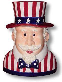 Uncle Sam Cookie Jar