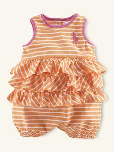 peach stripes