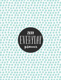 2017 EVERYDAY PLANNER