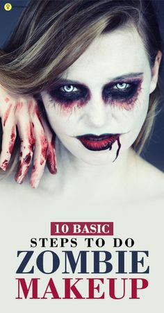 If you love experimenting with makeup, you must have tried the zombie and vampire look before. Given here are the steps to master the zombie makeup this Halloween