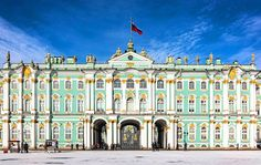 Winter Palace, Saint Petersburg, of The Emperors of All The Russias