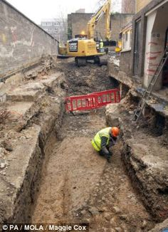 A nearly pristine Roman eagle and serpent sculpture was discovered at this London construction site.