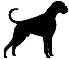 Australian based dog breeder of Boxers and Bobtail Boxers Boxer And Baby, Boxer Love, Happy Art, Body Tattoos, Silhouette Design, Wood Crafts, Stencil, Tattoo Ideas, Cricut