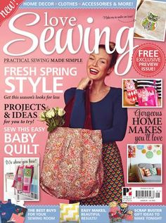 Love sewing sampler magazine