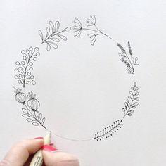 "5,923 Me gusta, 66 comentarios - Aaria Baid • Surely Simple (@surelysimpleblog) en Instagram: ""Day 1️⃣1️⃣🔶 this is a new #wreath idea I had - mostly because of the monotony of the old wreath…"""