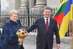 Dalia Grybauskaite and Petro Poroshenko. Kiev, 22.03.2015. Photo: lrp.lt