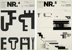 Type Trends & Pop Culture: Part 2—Explore the fads and events that defined the design world and typography, 1950s, '60s and '70s. Wolfgang Weingart