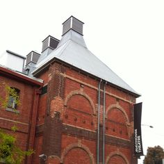 Wonderful heritage architecture. This is The Malthouse theatre