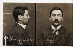 Contrast this with today's mugshots. This man knows how to get caught and look good doing it.
