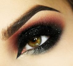 Amazing eye make up  - I do Make Up in the Car