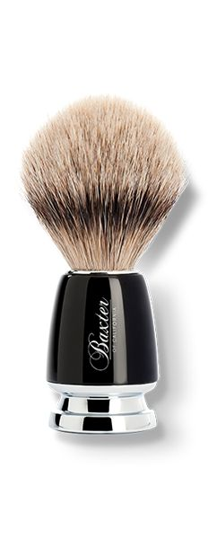 Stylish shaving brush - highest grade silver-tip badger hair Shaving Brush, Wet Shaving, Shaving Cream, Baxter Of California, Best Shave, Close Shave, After Shave Balm, Badger, Beard Styles