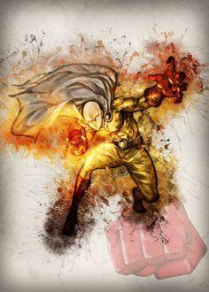 saitama logo emblem symbol hero pop art game gaming anime manga comic cartoon film