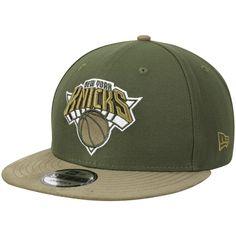 1702c2b8 Men's New York Knicks New Era Green Rifle Tonal Choice 9FIFTY Adjustable  Hat, Your
