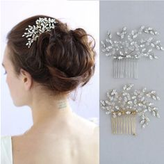 Aliexpress.com : Buy 2016 Stunning Crystal Wedding Hair Comb Accessories Gold Silver Bridal Headpiece Handmade Women Hair Jewelry Combs from Reliable jewelry dome suppliers on Jonnafe Store