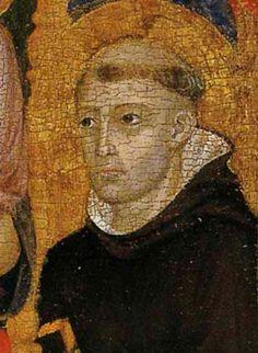 Cimabue - La Vergine con Bambino e Santi (Madonna Contini Bonaccossi), dettaglio…