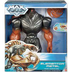 Max steel metal elementor action figure big