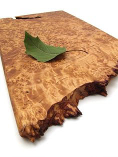 Ooak Serving Board - Stunning Natural Birch Burl Wood - Sustainable Harvest…