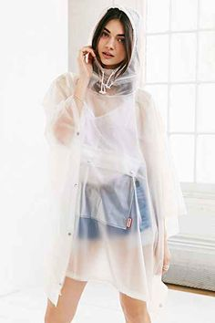 Hunter Clear Rain Poncho - Urban Outfitters
