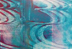 Printing with Gelli Arts®: Thick and Thin Gelli Printing ... And Our New Badge!!!