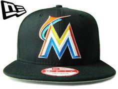 【ニューエラ】【NEW ERA】9FIFTY USカスタム MIAMI MARLINS マイアミ・マーリンズ ブラック スナップバック【CAP】【newera】【帽子】【フロリダ】【MLB】【snapback】【アメリカ】【snap back】【MLB】【メジャー】【グレー】【黒】【あす楽】【楽天市場】