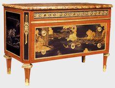 Risultati immagini per Louis XVI chests with handles