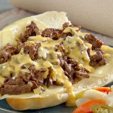 Philly Cheese Steak Round Steak Recipes | Yummly my aunt made this it was great I love it we had French fries to the side !!!