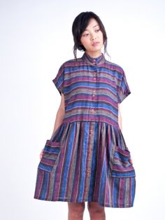 Refinery29 Shops: Vintage Striped Babydoll Dress