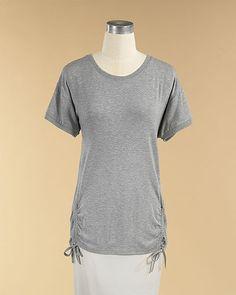 Drawstring Tunic T-Shirt