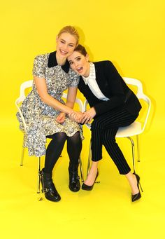 """""""Vampire Academy"""" Stars Zoey Deutch And Lucy Fry Are Best Friends And It's Adorable"""