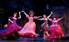 """I am throwing caution to the wind! I am imagining it as well!"" #Cinderella #Broadway"