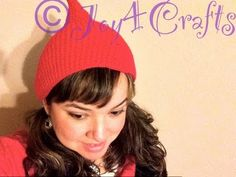 Loom Knit - Loom Along Christmas Elf Hat Part 1 (CC)  From Joy4Crafts on YouTube.