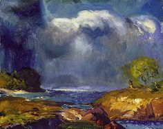 George Bellows - The Coming-Storm-1916