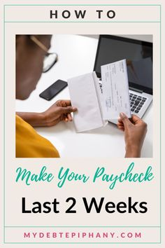 make your paycheck last longer mydebtepiphany Ways To Save Money, Money Tips, Money Saving Tips, College Student Budget, College Students, Setting Up A Budget, Build Credit, Manifesting Money, Money Today