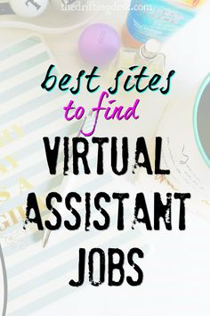Want to make more oney online? Consider becoming a virtual assistant for a blogger. Here are some of the best sites to find virtual assistant jobs.