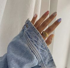 Cute Nails, My Nails, Trendy Nails, Manicure, American Threads, Nail Jewelry, Types Of Nails, Cool Street Fashion, Street Style