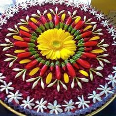 Get the best and latest Diwali rangoli design in here. Create these rangoli designs to ring in the festivals and special occasions with pomp and gaiety. Rangoli Designs Flower, Rangoli Patterns, Rangoli Ideas, Colorful Rangoli Designs, Rangoli Designs Diwali, Diwali Rangoli, Rangoli Designs Images, Flower Rangoli, Beautiful Rangoli Designs