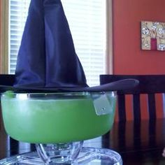 """Melted Wicked Witch Punch: Great """"Kid Friendly"""" Halloween Party  Drink...""""Looks Like You've Melted The Wicked Witch Of The West! A Great Punch To Serve At A Halloween Or A Theme Party. Serve As Is Or Add Mixers To Make It More Adult. Morbid But Delicious!"""" ...Click On Picture For Recipe..."""