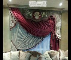 latest curtains designs for bedroom modern interior curtain ideas 2018 Latest curtains designs for bedroom 2018 catalogue, how to choose the colors of modern bedroom curtain design, and new curtain ideas to do in your bedroom interior design Curtain Designs For Bedroom, Latest Curtain Designs, Cool Curtains, Valance Curtains, Bedroom 2018, Modern Interior, Interior Design, Modern Bedroom, Curtain Ideas