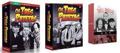 Verita's Sound And Vision: Coleção Original Os Três Patetas Box 9 DVD'S 3 Box...