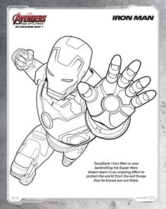 Avengers Age Of Ultron Marvels AVENGERS AGE OF ULTRON Arrives In Theaters Everywhere Next Friday May Here Is A Fun Packet 15 Coloring Sheets Inspired