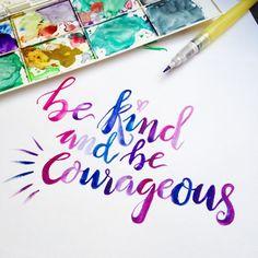 Custom brush calligraphy lettering perfect for by GoldenLetter