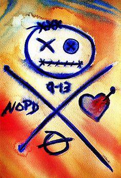 Katrina does NOLA (2) by Vonda Adomatis. New Orleans Art