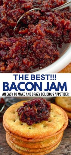Bacon Recipes, Jam Recipes, Canning Recipes, Jelly Recipes, Bacon Jam Recipe Canning, Hot Pepper Bacon Jam Recipe, Maple Bacon Jam Recipe, Hot Pepper Recipes, Candied Bacon