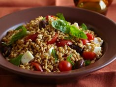 Caprese Di Farro and other Whole Grain Recipes from @Cooking Channel