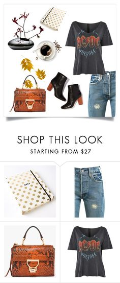 """#CasualChic"" by leliuscris on Polyvore featuring moda, Kate Spade, Levi's y Topshop"
