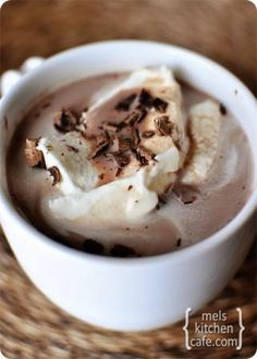 Coconut Tres Leches Hot Chocolate with Picture