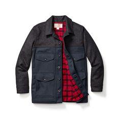 Of course I like a $440 jacket. FML. The Lined Seattle Cruiser - Mackinaw Wool