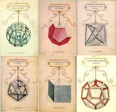 El tratado De la divina proporción (terminado de componer en 1496 y publicado en Venecia en 1509),