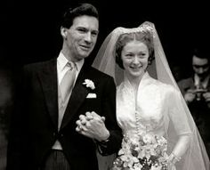 Ludovic Kennedy and Moira Shearer, 1950