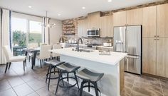Evolve - Pardee Homes Pardee Homes, Gated Community, Common Area, Planer, Townhouse, Kitchen Dining, Building A House, The Neighbourhood, Home And Family